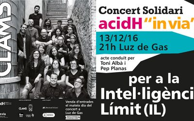 """Concert Solidari """"Clam per la Intel·ligència Límit"""""""
