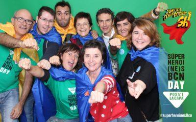 Ajudem a fer realitat la 3a Festa de les Superheroi(ne)s!