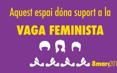 Inpacte s'adhereix a la vaga feminista del 8 de març