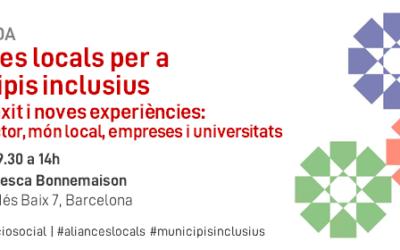 Jornada sobre Aliances locals per a municipis inclusius